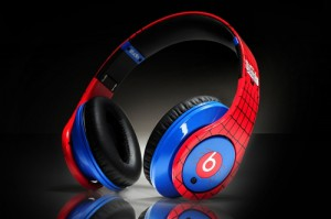 Beats-by-Dr-Dre-Studio--monstre-3D-Spiderman-Bleu-Rouge-Edition-limitée-Casque